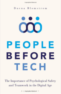 people before tech - the importance of psychological safety in the digital age