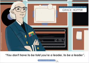 Grace Hopper - you don't have to be told you're a leader
